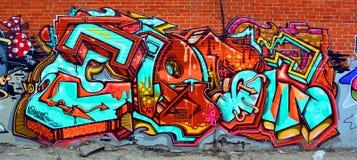 Street art tag Stock Photography