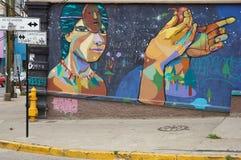 Street Art of Valparaiso Stock Photos