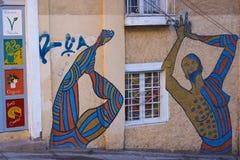 Street Art of Valparaiso Stock Images