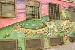 Street Art of Valparaiso Royalty Free Stock Photography