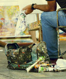 Street Artist Royalty Free Stock Photography
