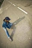 Street artist Stock Images