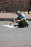 Street Artist Royalty Free Stock Image