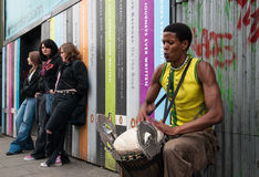 Street artist in London Royalty Free Stock Image