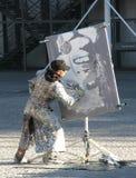 Street artist Royalty Free Stock Photography