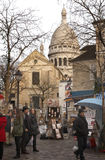 Street artist - Paris Stock Photos