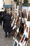 Street artist - Paris Royalty Free Stock Photo