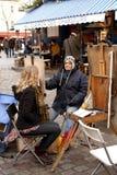 Street artist - Paris Royalty Free Stock Photos