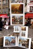Street artist - Paris Stock Images
