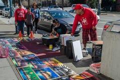 Free Street Artist, San Francisco, USA Stock Images - 142834084