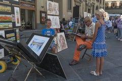 Street artist Royalty Free Stock Photos