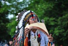 Street artists Indian folk music group Royalty Free Stock Photos