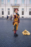 Street Artists in Rome Stock Photos