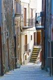Street as Stairway Stock Photo