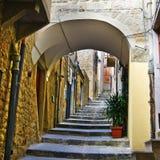 Street as Stairway Stock Photos