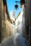 Street of Assisi Royalty Free Stock Image