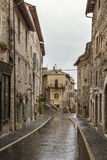 Street in Assisi, Italy Royalty Free Stock Photo