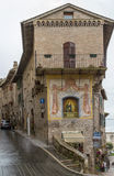 Street in Assisi, Italy Royalty Free Stock Photography