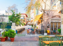 Street of Athens, Greece Royalty Free Stock Photo