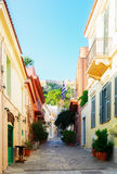 Street of Athens, Greece Royalty Free Stock Image