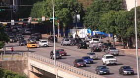 Street in Austin city, Texas, USA stock video