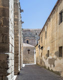 Street of Avila Royalty Free Stock Photos