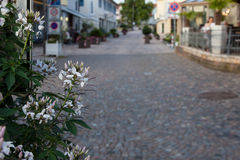 Street of Bad Krozingen Royalty Free Stock Photos