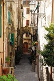 Street in Badalucco Royalty Free Stock Photos