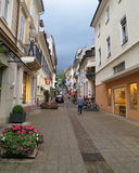 Street in Baden Baden Germany - stock photos Royalty Free Stock Images
