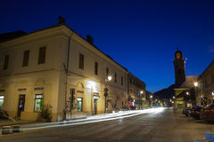 Street in Baia Mare Royalty Free Stock Image