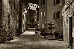 Street in Bale Royalty Free Stock Images