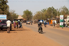 A street of Bamako Stock Photography