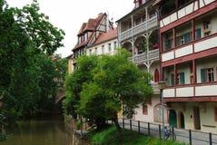 Street of Bamberg Stock Images