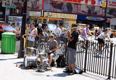Street Band Stock Image