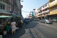 Street of Bangkok Stock Image
