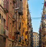 Street in Barcelona Stock Images