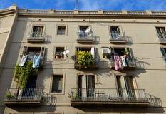 Street in Barcelona, Spain Royalty Free Stock Image