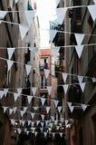 Street in Barcelona, Spain Stock Image
