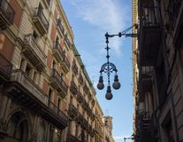 Street in Barcelona Royalty Free Stock Photos