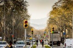 A Street, Barcelona Stock Photos