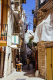 Street in Bari, Italy Stock Images