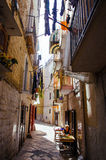 Street in Bari, Italy Royalty Free Stock Image