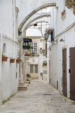 Street in Bari, Italy Stock Image