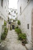 Street in Bari, Italy Stock Photography