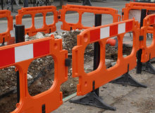 Street barrier Stock Photography