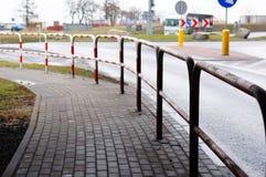 Street barrier Stock Photography