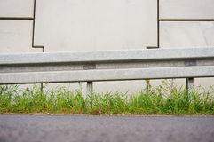 Street barrier royalty free stock photos