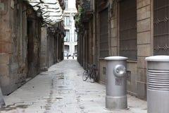 Street in Barselona, Spain. Street in Barselona city, Spain Stock Photo