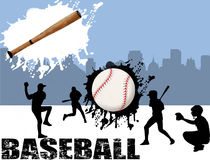 Street baseball Royalty Free Stock Photo