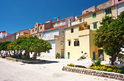 Street in Baska Stock Photos